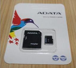 Whosale clase del 100% de la capacidad verdadera SDXC 10 Adata 8GB 16GB 32GB 64GB 128 GB Micro con el paquete al por menor