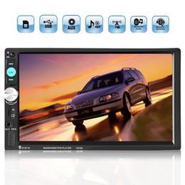7-дюймовый сенсорный экран 2 Din Автомобильное радио Стерео Bluetooth AUX SD FM USB MP5-плеер Громкая связь CMO_215