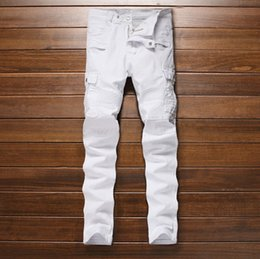 White Stretch Jeans Mens Online | Mens White Stretch Skinny Jeans ...