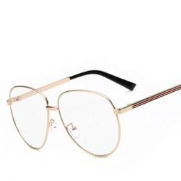 fashion reading glasses bk9e  2016 Fashion Classic Frame Plain Mirror Computer Reading Unisex Plated  Frames Eyeglasses Optical Woman Men Glasses