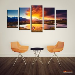 large wall pictures colorful clouds landscape print painting on canvas wall art home decor living room canvas print painting no frame large digital picture