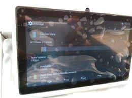 Vendre pc tablette avec fonction d'appel de téléphone 7 pouces de taille MDI pc avec fente pour carte SIM