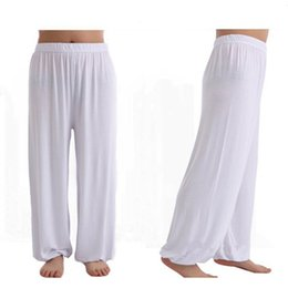 Loose White Dancing Pants Suppliers | Best Loose White Dancing ...