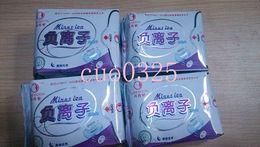 Wholesale Overnight sanitary napkins Love Moon Woman s sanitary pads Anion pad Lovemoon Anion Sanitary towels Panty liners Minus ion pc