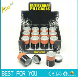 Wholesale Stealth Stash Diversion Safe AA Battery Pill Box Hidden Container Case Gift New
