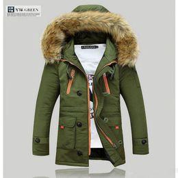 Discount Fur Hood Blue Coat Men | 2017 Fur Hood Blue Coat Men on ...