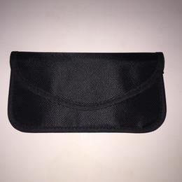 1pcs / lot anti-rayonnement cas anti-signal bag téléphone mobile bloquant sac téléphone cellulaire blindage sac de transport gratuit