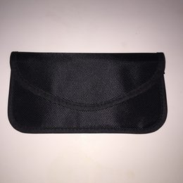 El teléfono móvil del bolso Anti-Señal de la Anti-Señal del caso anti-radiación 1pcs / lot que bloquea el bolso del blindaje de la señal del teléfono celular del bolso libera el envío