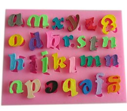 discount letter molds letters fondant moldclay candy resin molds silicone soap mold