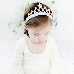 10pcs 2C Gold Silver Tiara Headband Glitter Crown Hairband with PU Star and Crystal Princess Birthday Party Head Wear Baby Hairbands Photog