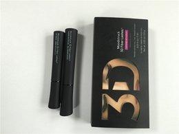 Precio de descuento 3D de la fibra de los latigazos 1030 versión rímel Moodstruck fibra 3D de pestañas resistente al agua alargamiento de color Negro rímel 2pcs = 1set