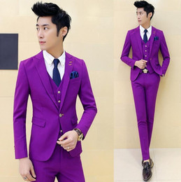 Discount Purple Tuxedos For Prom | 2017 Purple Tuxedos For Prom on ...