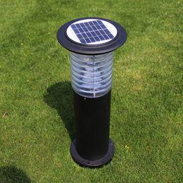 Solar Pole Lights Outdoor: Modern rain-proof solar lawn light garden road lamp outdoor backyard  community villa post pole lighting decoration lamps WCS-OLL0029 outdoor  light pole lamp ...,Lighting