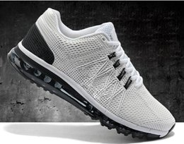 2016 Shoes Run Air Max 2016 New Arrival 100% Original air Men's max Sports Running Shoes ,Breathable Athletic Shoes For Men Size 40-47