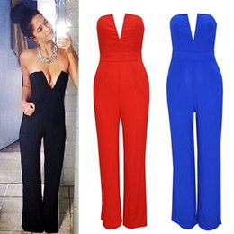 Red Jumpsuit Wide Leg Online | Red Jumpsuit Wide Leg for Sale