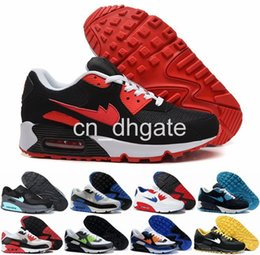2016 Shoes Run Air Max 2016 Hot Sale Max 90 High Quality Men Running Shoes Fashion Mens Sports Max90 Breathable Training Shoe Size 40-45 Air Free Shipping