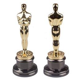 8.5lbs (officielle) Oscars Statuette Trophy Academy Prix du mérite Trophée de métal 1: 1 Livraison un jour