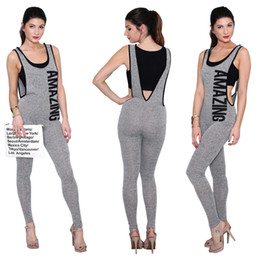Discount Womens Gray Jumpsuits | 2017 Womens Gray Jumpsuits on ...