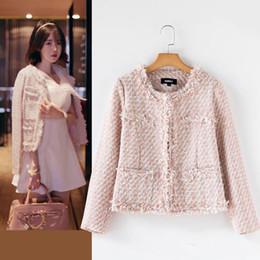 Discount Tweed Jacket Pink | 2017 Tweed Jacket Pink on Sale at