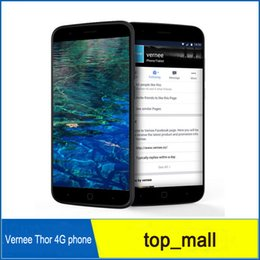 Discount chinese phone screens 5.0 inch Vernee Thor Fingerprint Scanner Touch ID 4G LTE 3G 16G Android phone 64bit Octa Core MTK6753 1280*720 13MP GPS WIFI Smartphone