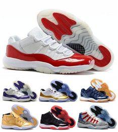 Retros Children Kids Basketball Shoes Sneakers Men Grey Retro Jordas XI Low Man Bred Georgetown Space Jam Citrus GS online