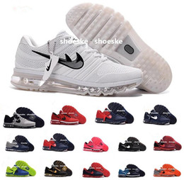 online shopping Maxes New Style KPU Cushion Running Shoes For Men women maxes sneaker Air Cushion Surface Breathable Max Shoes size us