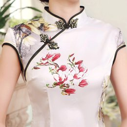 Wholesale The new brief paragraph cheongsam Chinese traditional garments