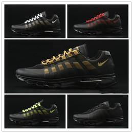2016 Shoes Run Air Max Discount Running Shoes Max95 Men Retro Air Cushion Orange 2016 Maxes 95 OG Sport Zapatillas Deportivas 95s Walking Boots Sneakers budget Shoes Run Air Max