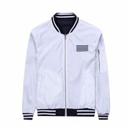 Discount White Bomber Jacket Mens | 2017 White Bomber Jacket Mens ...