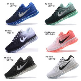2016 Shoes Run Air Max Top Quality Max Shoes Running Shoes,Whole Palm Air-Cushion Lightweight Breathable Max 2017 Shoes 36-46 Athletic Send With Box Shoes Run Air Max clearance