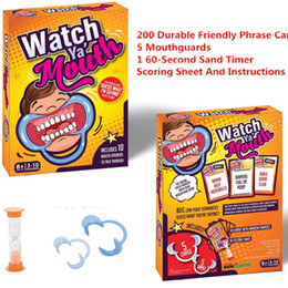 Speak Out Watch Ya' Mouth Board Game Mouth Guard Mouthpiece ...
