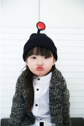 2017 baby adult cap hat Children's Wool Cap 2016 New Winter Fashion Wave of Baby Girls Solid Teletubbies Hedging Hat Parent-Child DHL Free shipping baby adult cap hat promotion