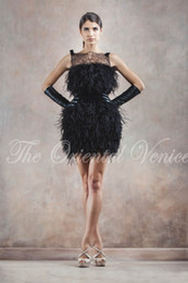 Black Lace Feather Homecoming Dresses Online | Black Lace Feather ...