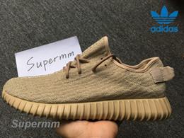 Wholesale Adidas Yeezy Boost Oxford Tan AQ2661 Mens Running Shoes Women Kanye West Yeezy Yeezys Season Yezzy Sports Shoes With Original Box