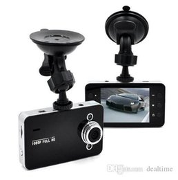K6000 камера автомобиля Автомобильный видеорегистратор FHD 1920 * 1080P 25FPS 2.4inch TFT экран с G-сенсор Registrator Автомобильный видеорегистратор