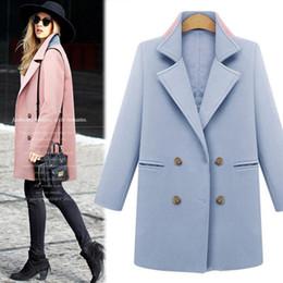 Pink Wool Coat Sale