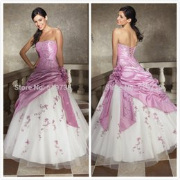 Wholesale In Stock Beaded Embroidery Taffeta Tulle Sweet Girl Dresses vestido de debutante para Cheap Quinceanera Dresses Quinceanera Gowns