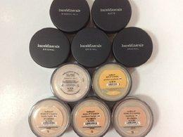 nuevos maquillaje minerales de calidad superior original 8g Fundación SPF15 NUEVO Click / Bloqueo bastante ligero / color beige medio / sopa de verano / 9g iluminando