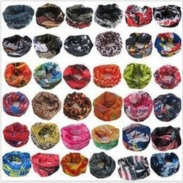 Discount women scarves dhl shipping Wholesale NEW PAISLEY DESIGN BANDANA BIKER COW BOY GIRL NECK SCARF WRIST WRAP Skull head bandana DHL Shipping