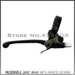 Сплав Рычаг сцепления для 2-х тактных 49cc 60cc 66cc 80cc моторизованный велосипед Черный файл рычаг