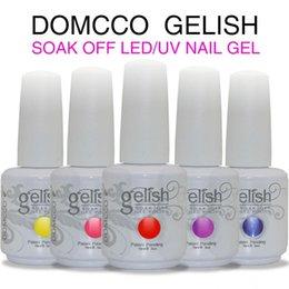Wholesale Top Quality Long lasting Color Soak Off Led UV Gel Polish Led Nail Gel Lacquer Varnish DHL Free