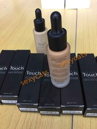 Wholesale black writing in stock Hot Brand Unique Moodstruck Mineral Liquid Foundation Makeup Face Foundation colors