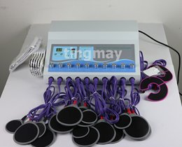 Wholesale One Muscle stimulator machine with piece pads and cables
