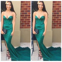 Discount Silk Slim Prom Dresses | 2017 Long Slim Dresses Prom Silk ...