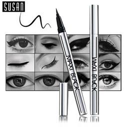 Wholesale 1 Hot Ultimate Black Liquid Eyeliner Long lasting Waterproof Eye Liner Pencil Pen Nice Makeup Cosmetic Tools