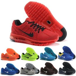 2016 shoes run air max Hot Sell MAX 2013 Men Running Shoes Top Quality KPU Material Sports Training Shoes Athletic Walking Sneakers Size 40-47 Air Free Shipping shoes run air max outlet