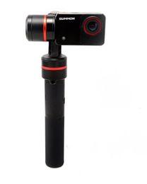 Feiyu estrenar Invocación de 3 ejes estabilizado portátil 4k acción de la cámara, Negro