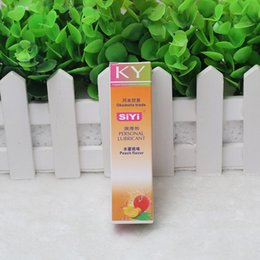 Wholesale 10pcs wholesales KY SIYI ml anal sex lubricant gel water based massage oil vaginal lubrication lube sex products RHY01