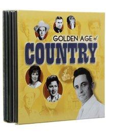 2016 Золотой век Страна 10 дисков Музыкальные компакт-диски маленькая версия