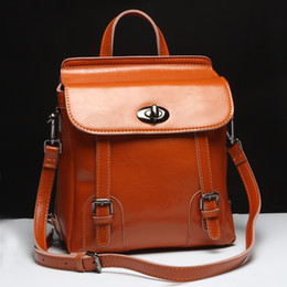 Waxed Leather Backpack Online | Waxed Leather Backpack for Sale
